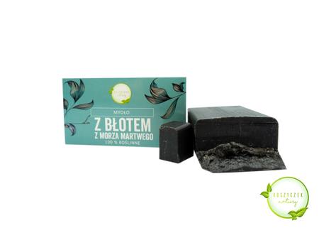 Mydło Naturalne z błotem z Morza Martwego 100% roślinne 100 g (1)